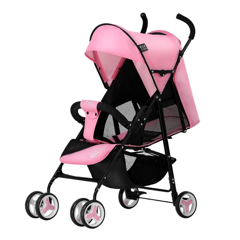 吉宝宝婴儿车推车可坐可躺轻便折叠简易避震便携式四季儿童手推车7300-A