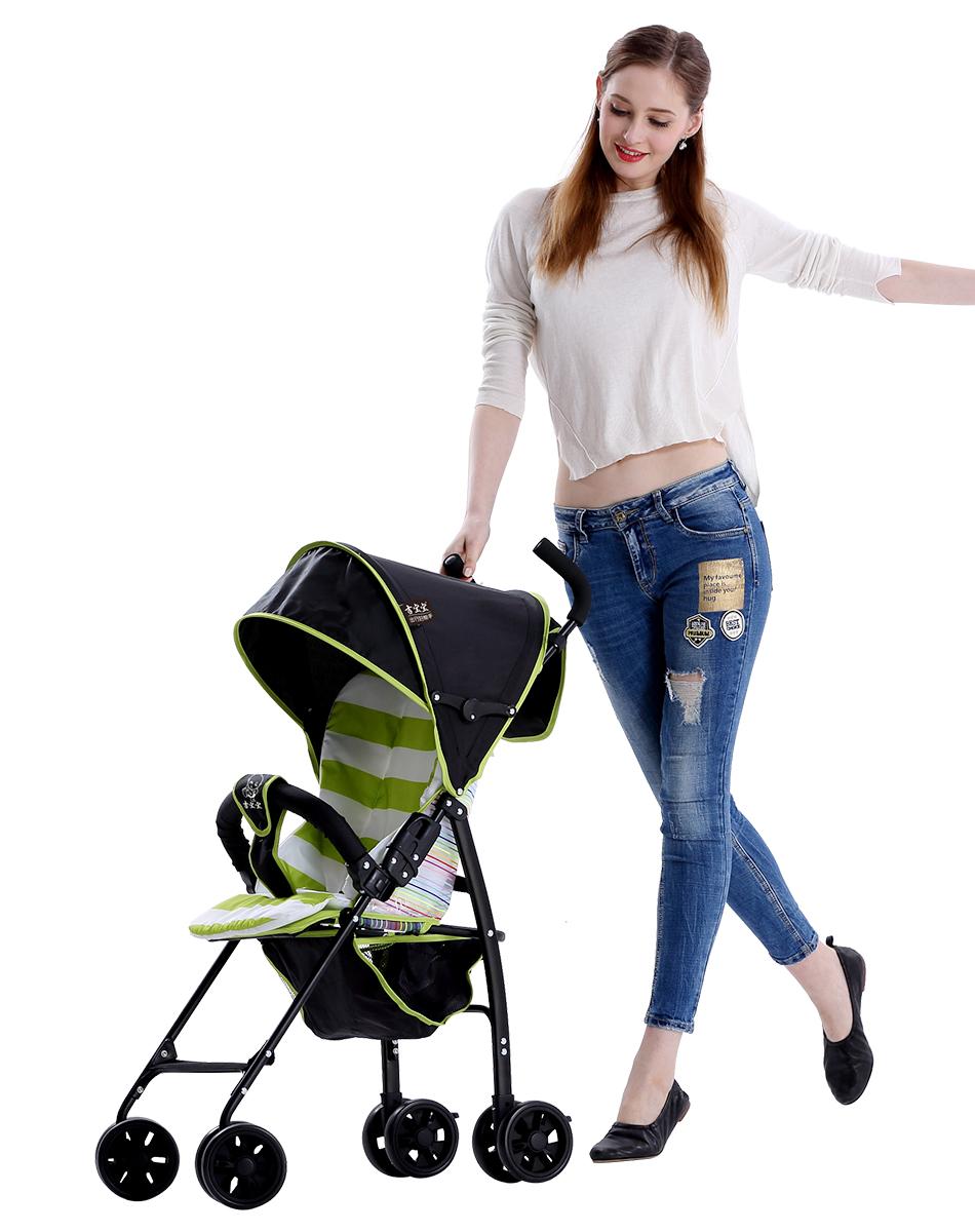 吉宝宝婴儿车轻便折叠超轻小儿童伞车简易便携式四季坐式婴儿推车7300